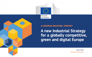 A new industrial strategy logo